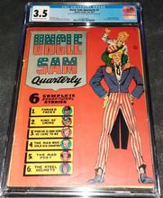 Uncle Sam Quarterly  #1 (1941) CGC 3.5