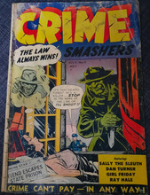Crime Smashers #11 F/G Classic cover
