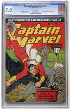 Captain Marvel Adventures #13 CGC 7.0
