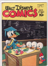 Walt Disney's Comics and Stories #61 VG+ 4.5