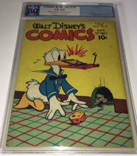 Walt Disney's Comics and Stories #70 PGX 8.0