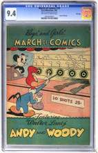 March of Comics #76 CGC 9.4