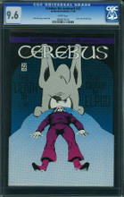 Cerbus the Aardvark #22 CGC 9.6