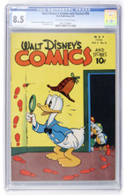 Walt Disney's Comics and Stories #56 cgc 8.5