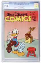Walt Disney's Comics and Stories #54 CGC 7.0