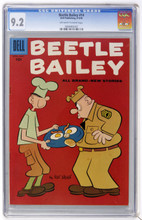 Beetle Bailey #14 CGC 9.2 NM-