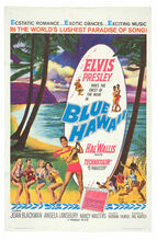 Blue Hawaii 1961 One Sheet Poster