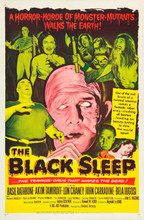 The Black Sleep (1956) One Sheet Bela Lugosi