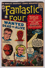 Fantastic Four #07 VG+ 4.5