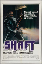 "Shaft (1971) One Sheet (27"" X 41"") MINT"
