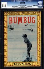 Humbug #7. CGC 8.5 VF+
