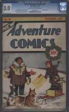 New Adventure Comics #22 CGC 3.0
