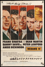 Ocean's 11 (Warner Brothers, 1960) One Sheet