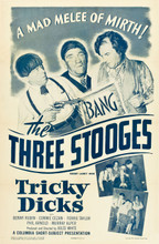 "Three Stooges in ""Tricky Dicks"" (Columbia, 1953)"