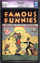 Famous Funnies #1 (1934) CGC 3.0