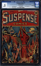 Suspense Comics #3 CGC 0.5