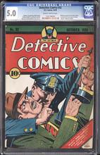 Detective Comics #32 (1939) CGC 5.0 VGF
