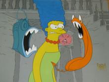 Simpsons animation cel Season 1 (1990)