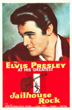 Mouse over image to zoom Have one to sell? Sell it yourself Jailhouse Rock (MGM, 1957) Elvis classic! One Sheet on linen