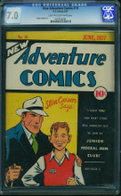 New Adventure Comics #16 CGC 7.0 FVF