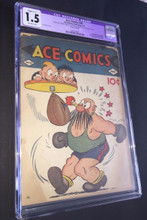 ACE COMICS #26 (1939) CGC 1.5 FR/G Origin & 1st appearance of Prince Valiant