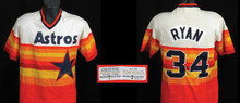 Nolan Ryan 1980 Houston Astros Spring Training Game Worn Home Jersey