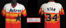 Nolan Ryan 1980 Houston Astros Spring Training Game Worn Home Jersey