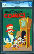 Walt Disney's Comics and Stories #28 (1942) CGC 7.0