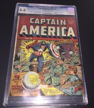 Captain America Comics #02 (1941) CGC 6.0 FN Universal