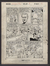 PLANET COMICS (1943) #24  Interior Page 9 Original art