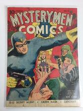 Mystery Men Comics #8 (1941) Classic Cover