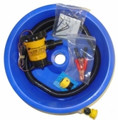 BLUE BOWL WITH 12V PUMP KIT