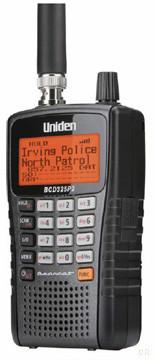 Uniden BCD-325P2 APCO P25