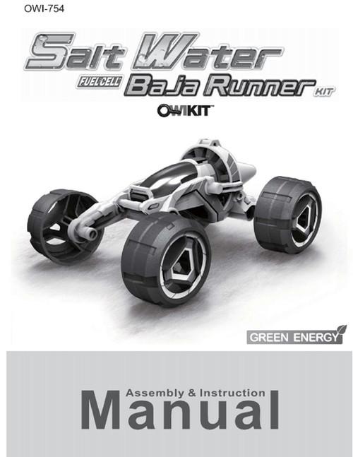 Salt Water Fuel Cell Car Owi Inc Dba Robotikits Direct