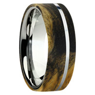8 mm Exotic Wood in Titanium - K109M-BEBurl