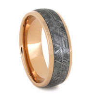 7 mm Meteorite, 14 Kt Rose Gold - RG223M