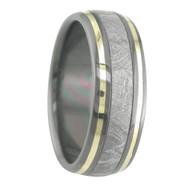 8 mm 5-Star Collection, Black Zirconium/Meteorite/Gold - M790FS