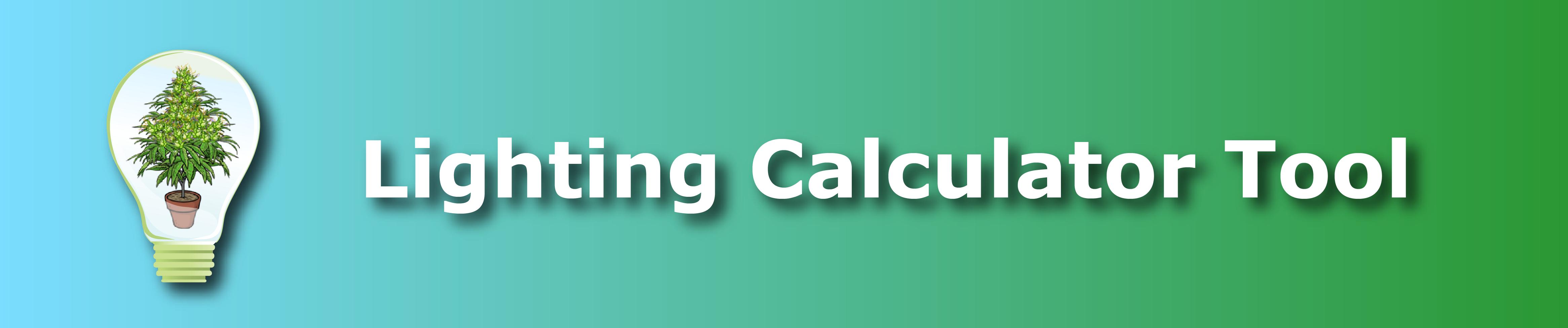Lighting Calculator Tool