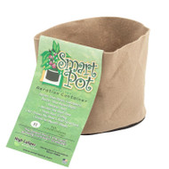 "1 Gallon Smart Pot 7"" x 6"" Tan by the Case (RCT1-100) UPC:674344160012"