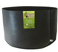 "100 Gal Smart Pot 50"" x 12"" Squat Size BLACK by the Case (RC100S-30) UPC:00674344101015"