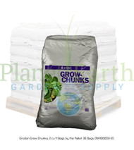 Grodan Grow Chunks (2 cubic foot bags) by the Pallet (RW108003) UPC 856372001660