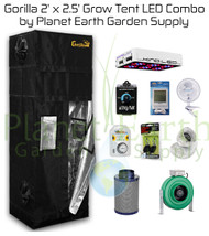 2' x 2.5' Gorilla Grow Tent Kit 300W KIND LED L300 Package #1