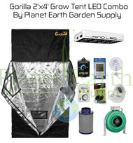 2' x 4' Gorilla Grow Tent Kit 450W KIND LED L450 Package #1