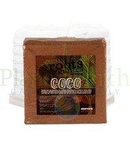 Roots Organics Compressed Chopped Coconut Strand Fiber (9 pound blocks) in Bulk (ROCFS) UPC:609728632007