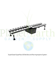 SuperCloset SuperFlow 32 Site Ebb and Flow Hydroponic System (SC32SF) UPC 739027575160