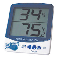 Large Min/Max Digital Hygro-Thermometer
