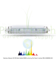 Nanolux Maxpar 4K DE Metal Halide 600W Lamp by the Case: 4 Lamps (DEL-MH600W-4K)