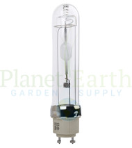 Ushio Hilux Gro CMH Lamp 315W 3000K Vertical view of the bulb with socket showing.