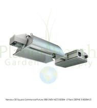 Nanolux DE Square Commercial Fixture 208-240V NCCS 600W : 2 Pack (DEFNC-S-600W-2)