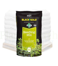 Black Gold Seedling Mix OMRI (1.5 cubic foot bags) in Bulk (SGBGSM15) UPC 064277123510